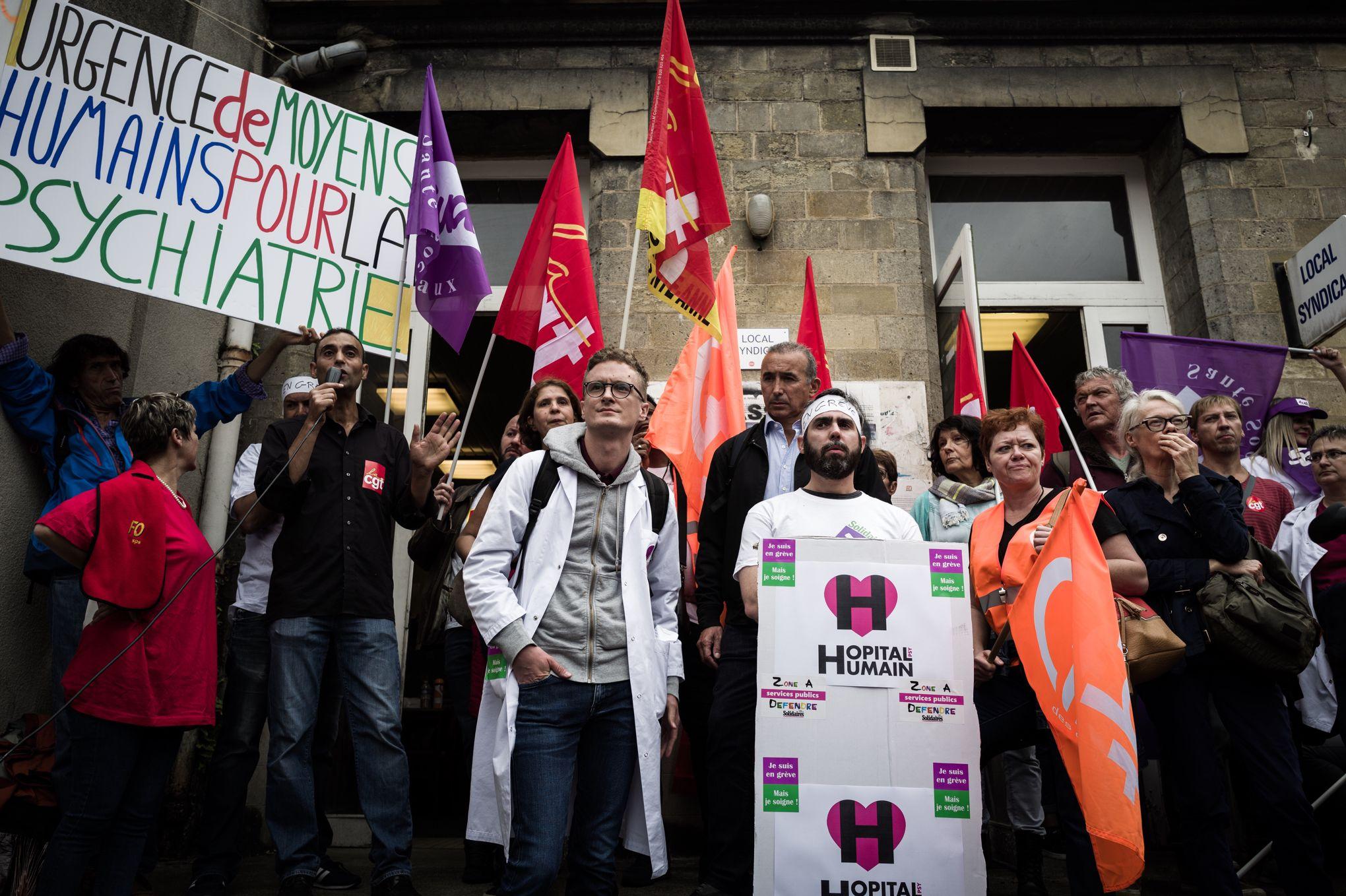 Hôpital du Vinatier… Des drames inadmissibles ! <br> <h2>Le groupe Communiste et républicain solidaire des salariés !</h2>
